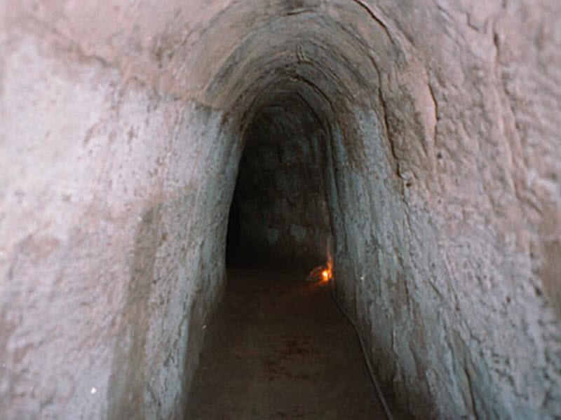 تونل Cu Chi در کشور ویتنام