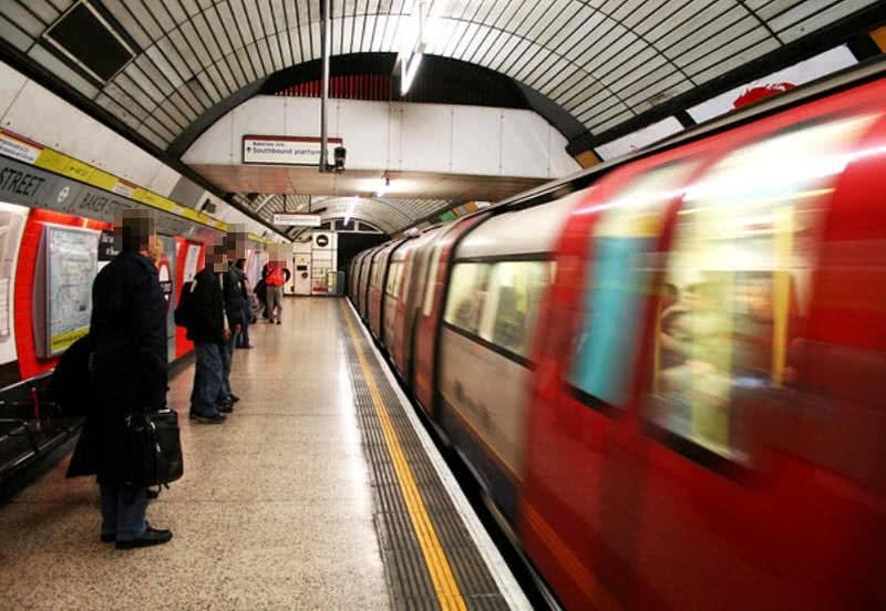 تونل های متروی لندن