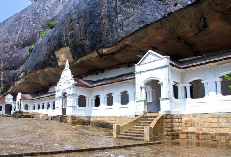 معبد غار Dambulla در کشور سریلانکا