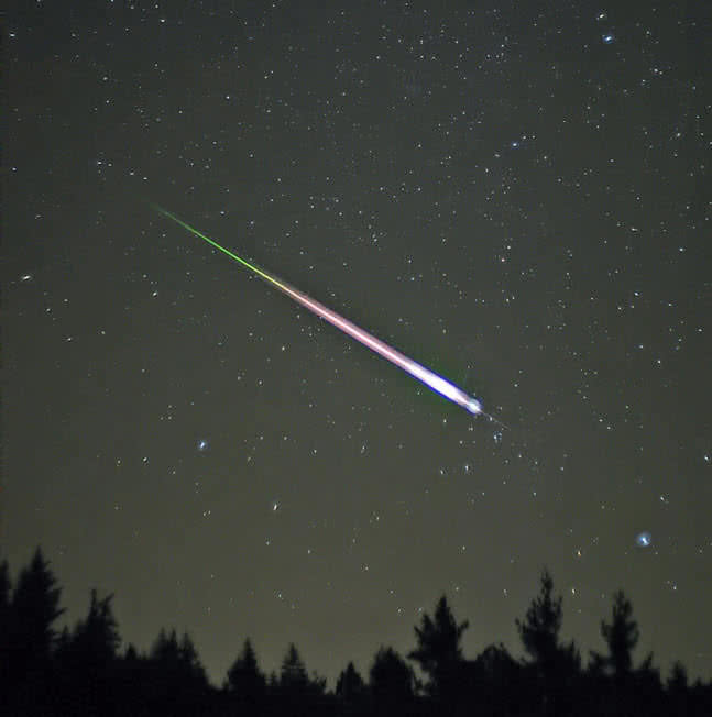 leonid meteor