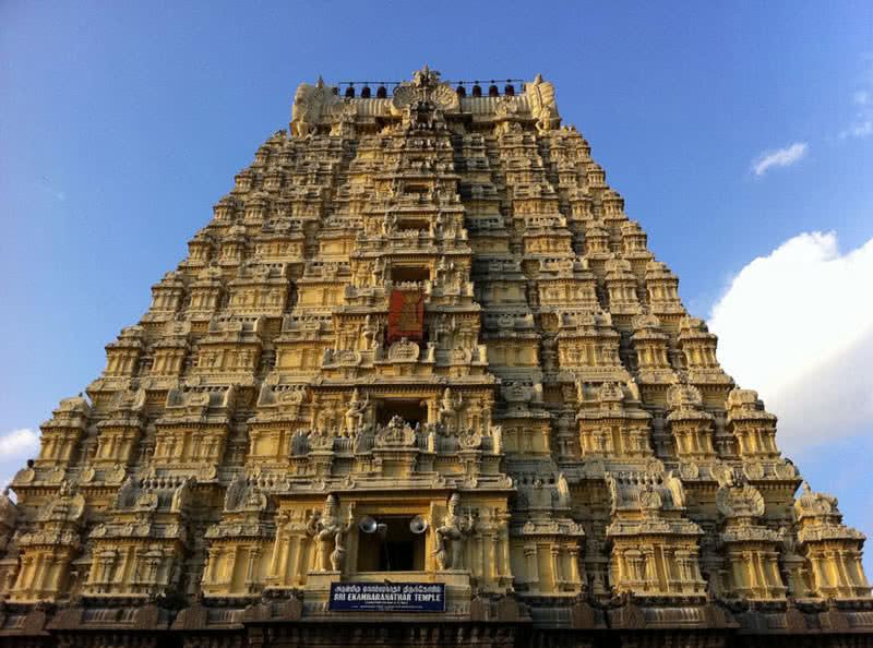 ekambareswar temple