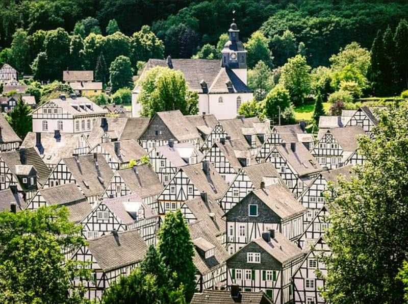 زیباترین روستاها